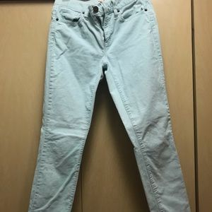 J. Crew Cropped Matchstick Cords